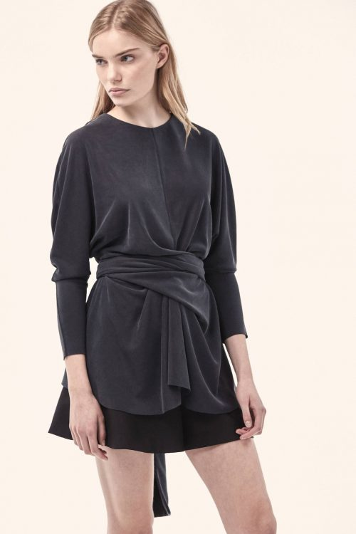 Cyprus Top   Slate   Acler   Harry & Gretel Doubleview   Tops