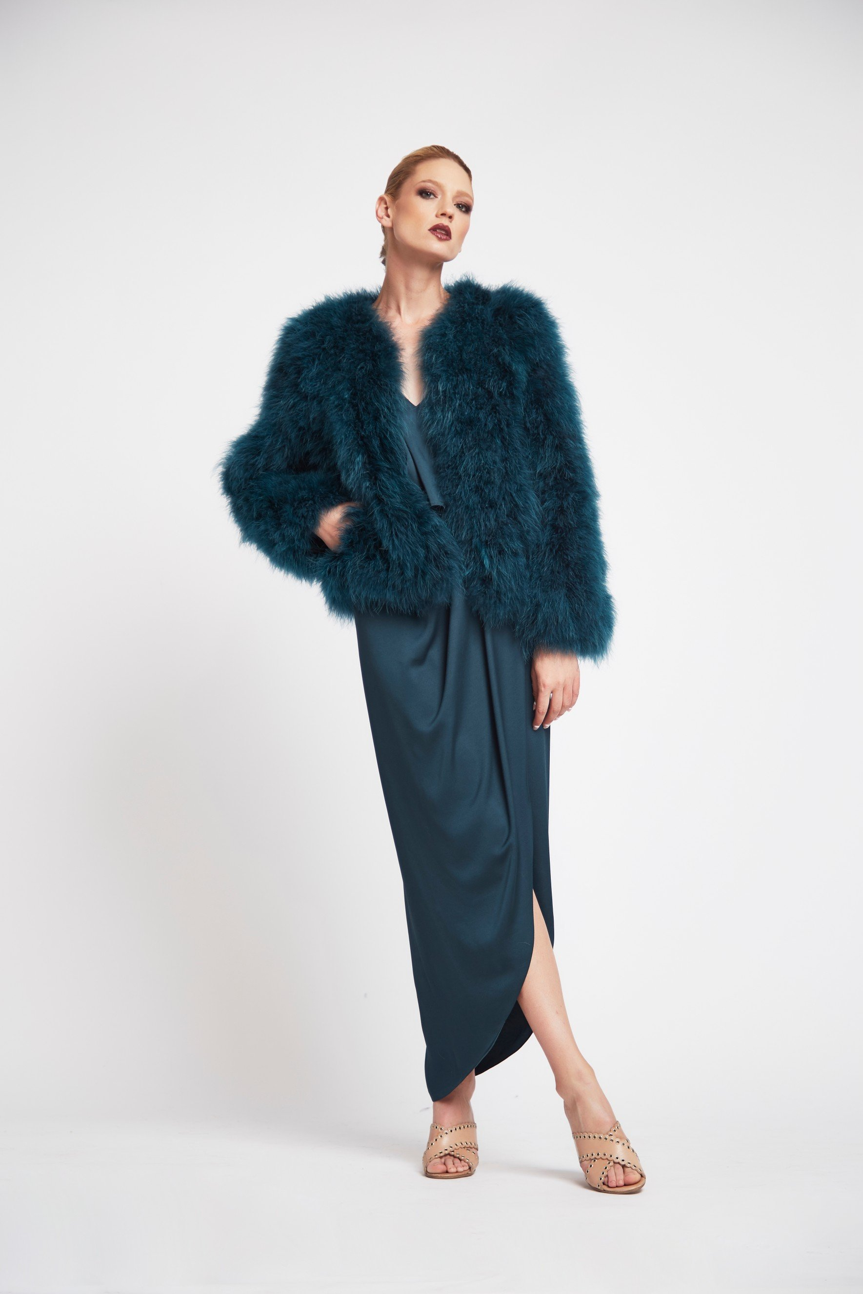 Saville Feather Bomber | Harry and Gretel