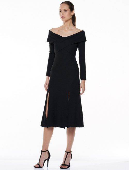 Intoxicating Off The Shoulder Midi Dress | Talulah | Harry & Gretel Doubleview | Dress
