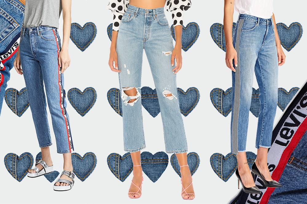 denim trends 2018 | Straight Leg Denim | Levis 501 | Harry and Gretel
