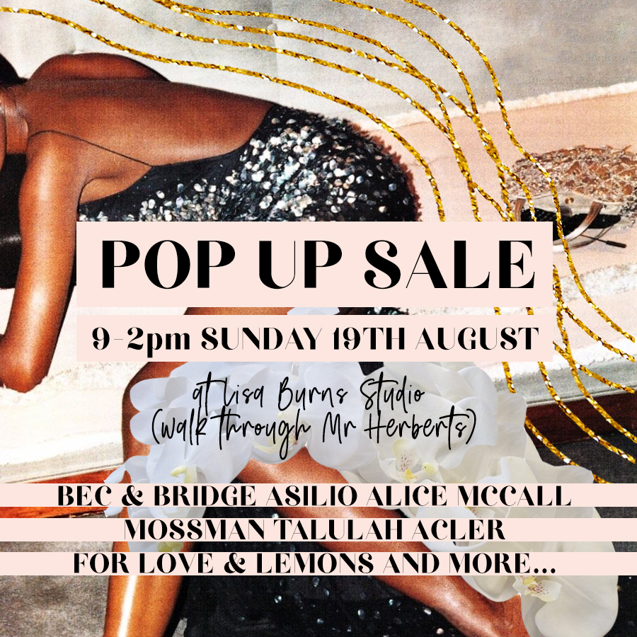 Harry and Gretel POP UP SALE