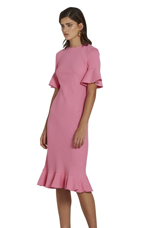 Willow Bias Tee Dress Candy Pink | By Johnny | Harry & Gretel | Dress