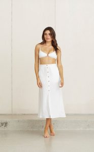 Kelly Skirt white by Bec & Bridge available at Harry and Gretel