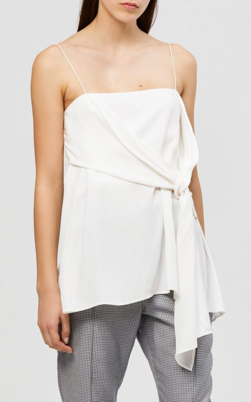 Alma Silk Cami Ivory | Acler | Harry & Gretel Doubleview | Top | Cami