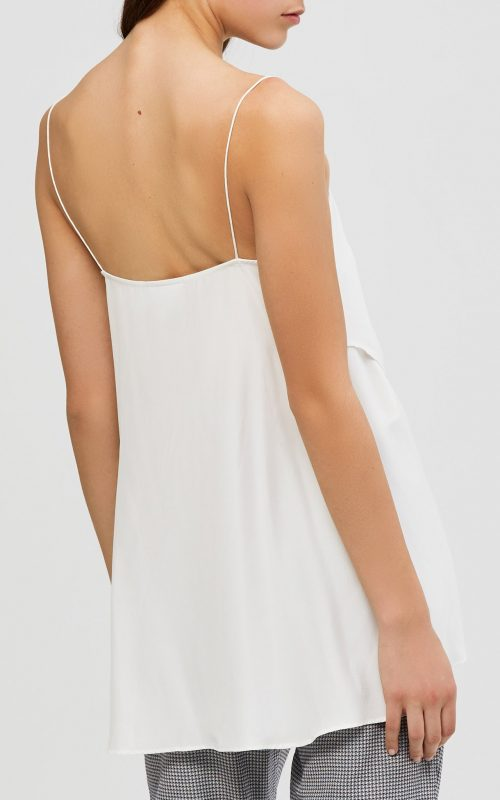 Alma Silk Cami Ivory   Acler   Harry & Gretel Doubleview   Top   Cami