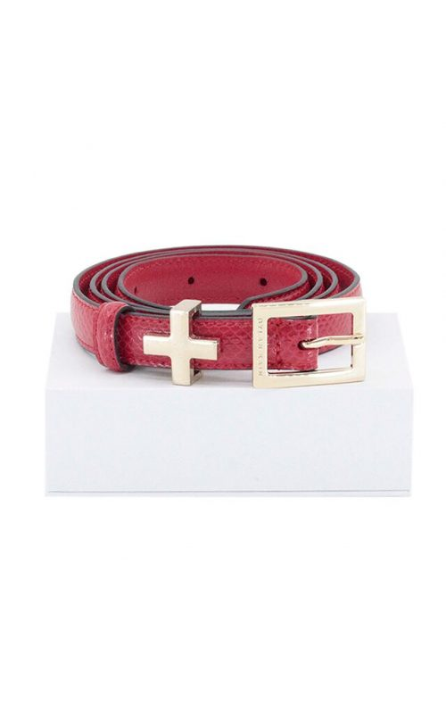 The Rose Belt Red Light Gold | Dylan Kain | Harry & Gretel | Belt | Accessories