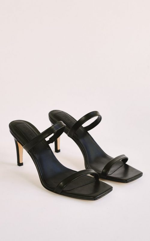 Two Strap Leather Heel | Jaggar the Label | Harry & Gretel | Heels