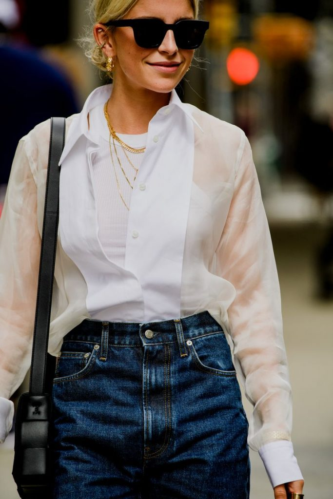White Shirt Trend | NYFW 2019 | Shop Now Harry and Gretel