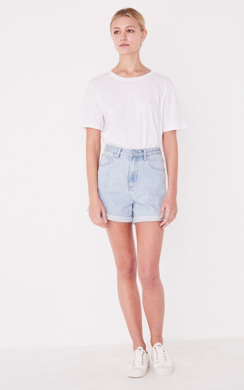 Rolled Hem Shorts | Assembly Label | Harry & Gretel | Demin