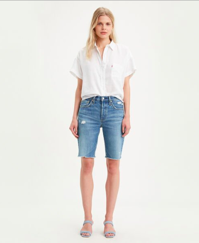501 Knee Length Shorts | Levis | Harry & Gretel | Shorts | Denim