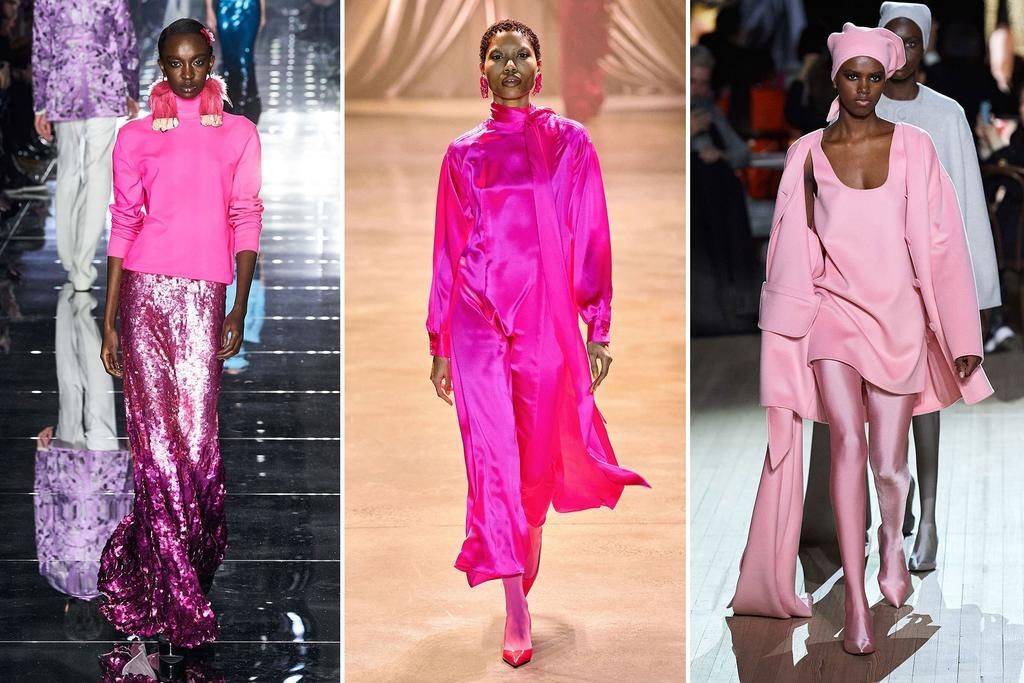 Fashion trends from NYFW | Vibrant Pink | Harry and Gretel