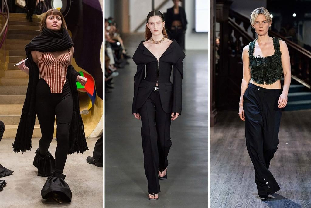 Fashion trends from NYFW | Corset | Harry and Gretel
