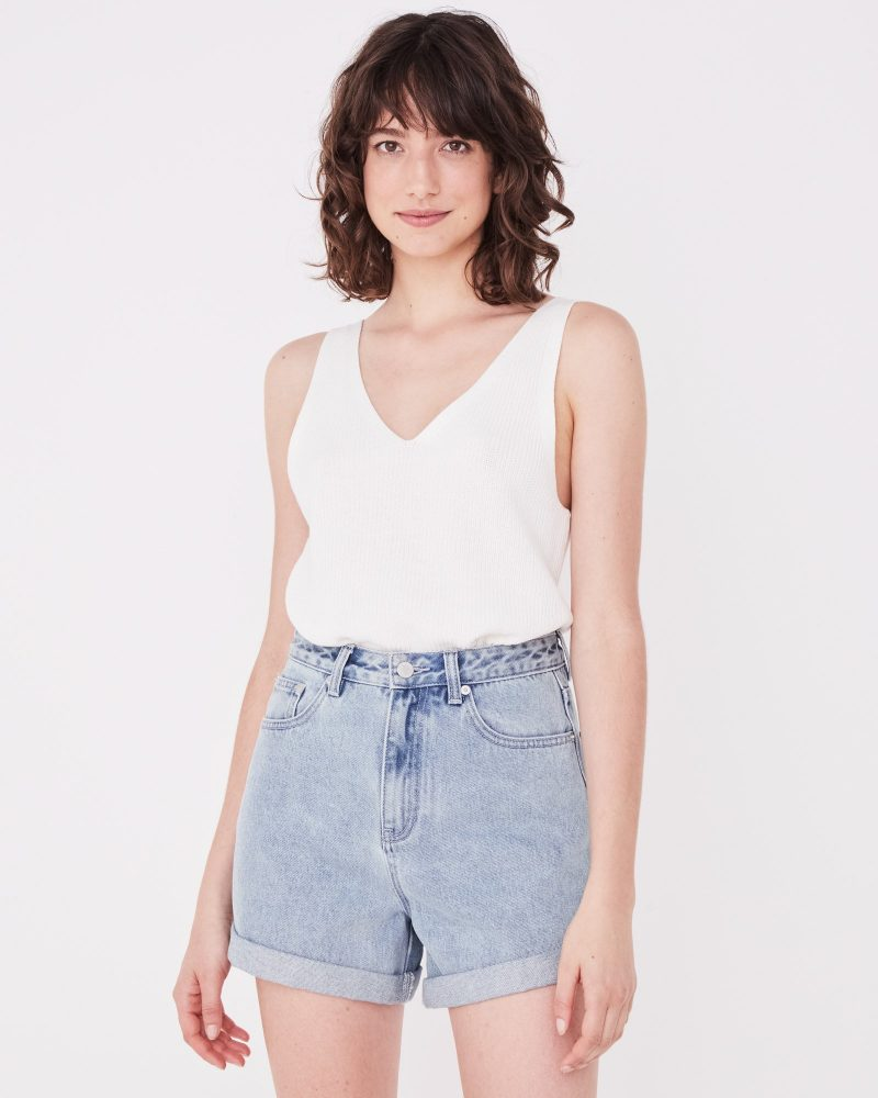 Rolled Hem Shorts | Assemlby Label | Harry & Gretel | Denim Shorts