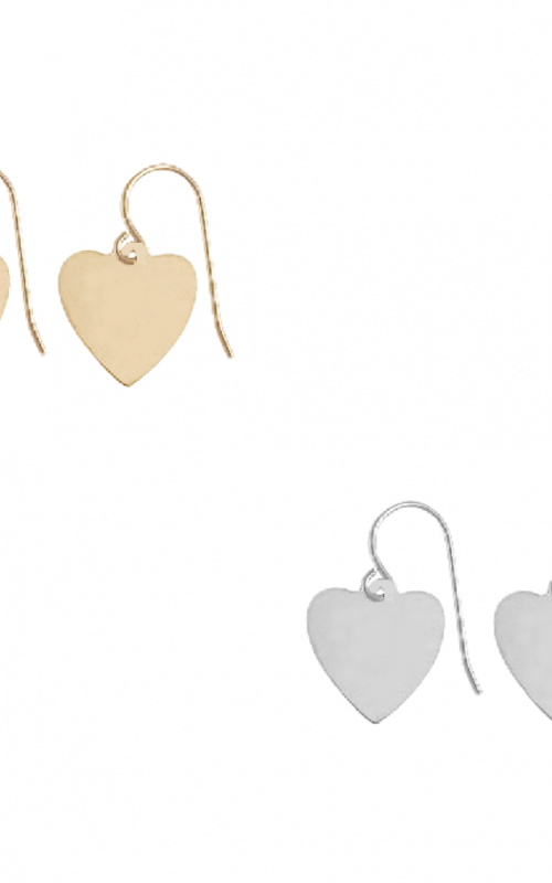 Avery Heart Charm Earring | Misuzi | Harry & Gretel | Earring