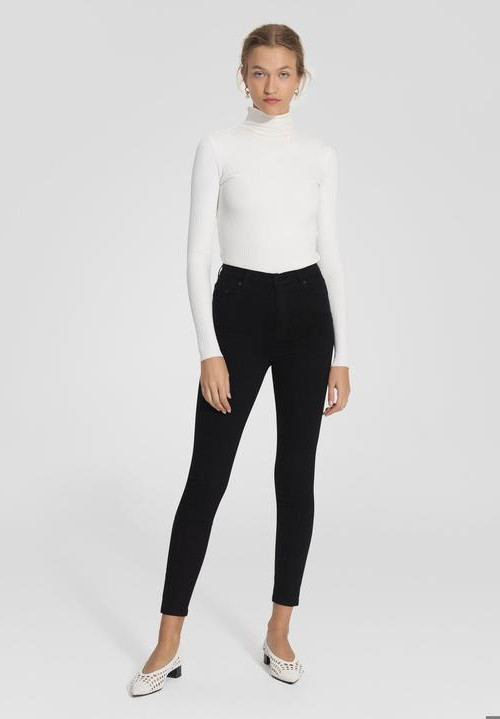 Siren Skinny Ankle Power Black | Nobody Denim | Harry & Gretel | Jeans
