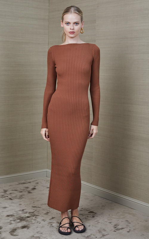 Adele Midi Dress | Bec & Bridge | Harry & Gretel | Midi | Dress | Ribbed