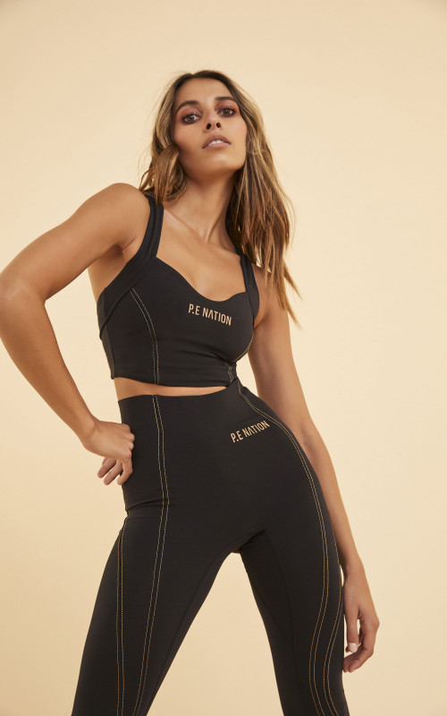 Elevation Sports Bra | PE Nation | Harry & Gretel | Activewear