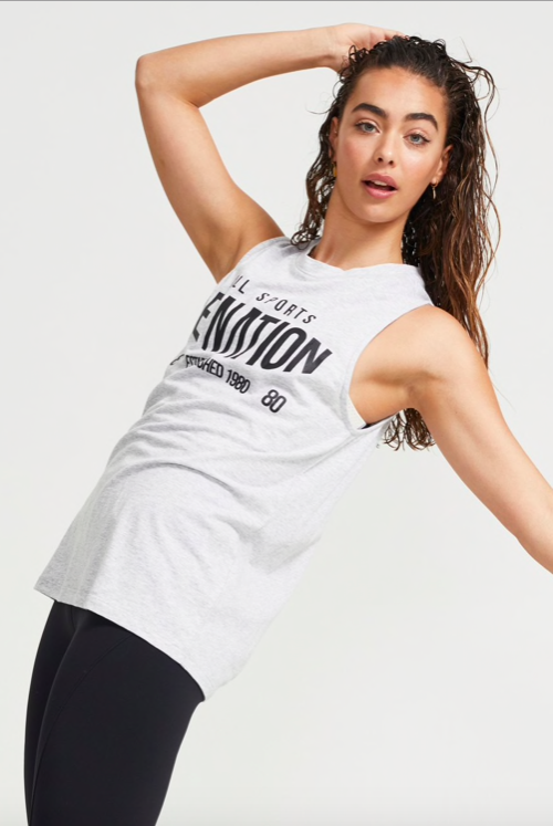 Box Out Tank | Pe Nation| Harry & Gretel | Tank | Activewear