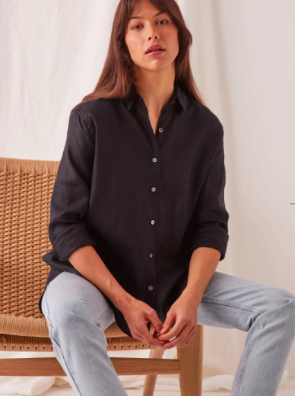 Xander Linen Shirt | Assembly Label | Harry & Gretel | Shirt | Linen