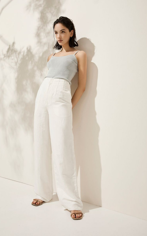 La Maddalena Pant | Elka Collective | Harry & Gretel | Pants | White Pants