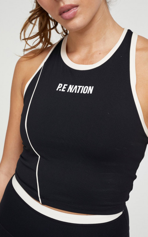 Match Play Sports Bra | PE Nation | Harry & Gretel | Activewear | Top Crop