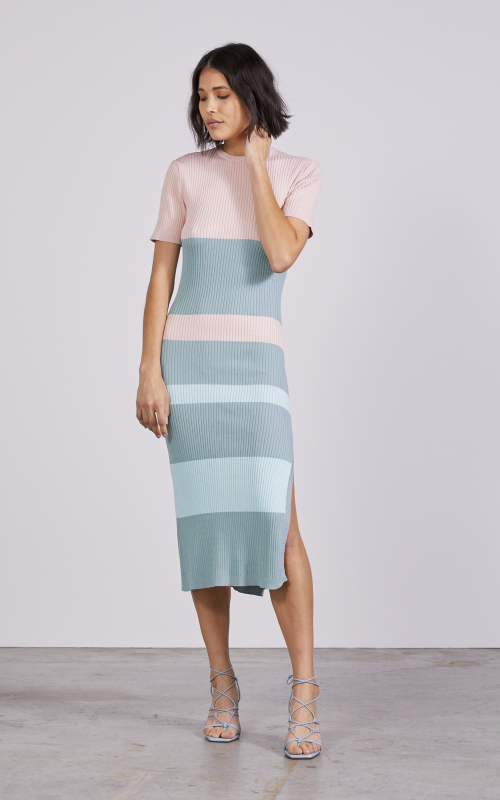 Candy Bar Knit Tee Dress | Harry & Gretel Perth | Third Form | Dress