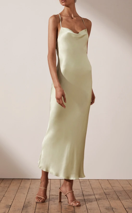Giselle Backless Bias Midi Dress | Harry & Gretel Perth | Shona Joy | Dress