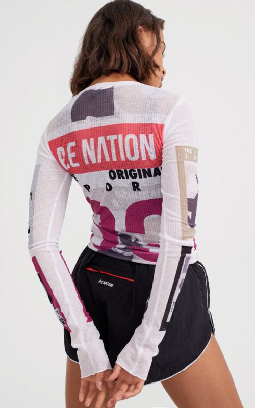 Double Team LS Top | PE Nation | Harry & Gretel Perth | Activewear | Top |