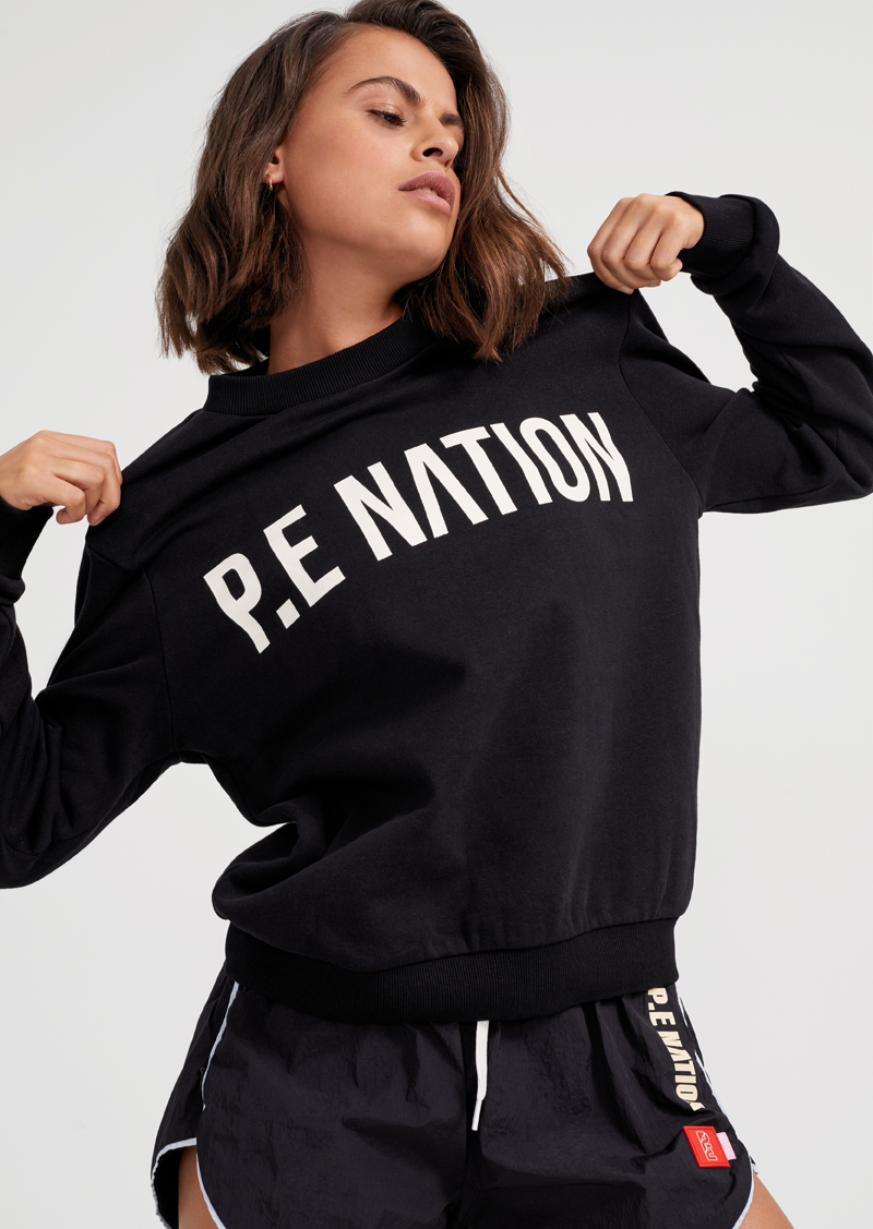 Fortify Sweat Black | PE Nation | Harry & Gretel Perth | Jumper | Active