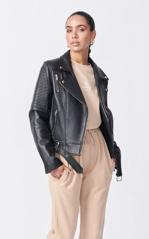 Classic Biker Jacket | Ena Pelly | Harry & Gretel Perth | Jacket