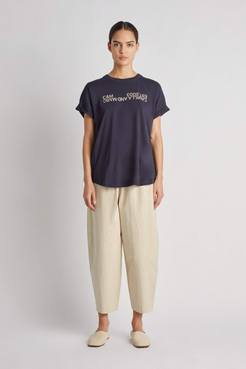 Huntington 2.0 Tee French Navy | C&M | Harry & Gretel Perth | Top | Active