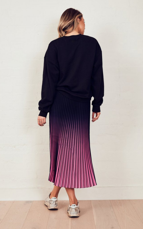 The Sunray Skirt Navy to Pink Ombre | The Others | Harry & Gretel Perth |