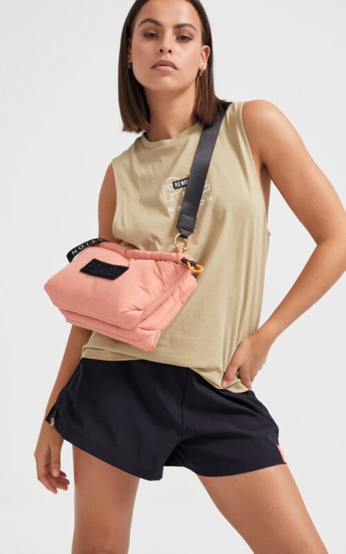 Box Out Bag Peach | PE Nation | Harry & Gretel Perth | Activewear | Bag |