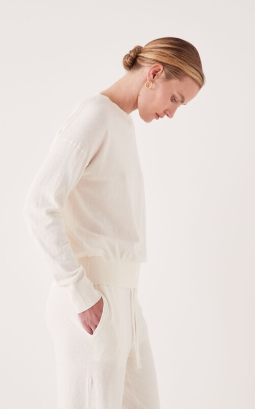 Cotton Cashmere Sweater | Assembly Label | Harry & Gretel Perth |