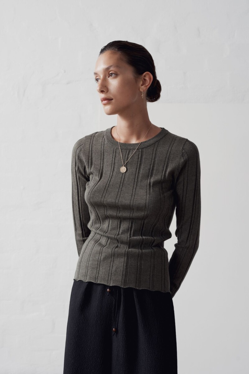 Ana Top Clover | Marle | Harry & Gretel Perth | Knitwear | Top |