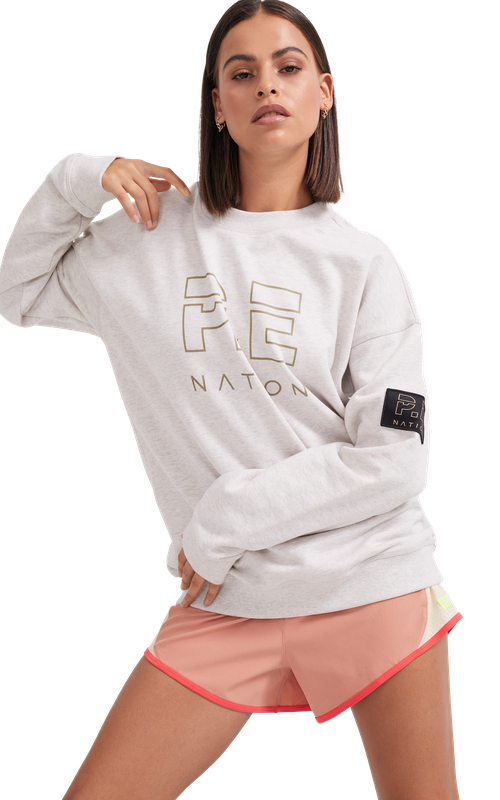 Heads Up Sweat Grey Marl | PE Nation | Harry & Gretel Perth | Jumper |