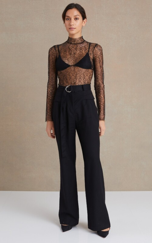 Lace Racer Bodysuit | Bec & Bridge | Harry & Gretel Perth | Top |