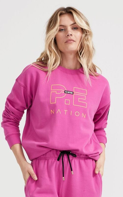 Heads Up Sweat Raspberry Rose | PE Nation | Harry & Gretel Perth |