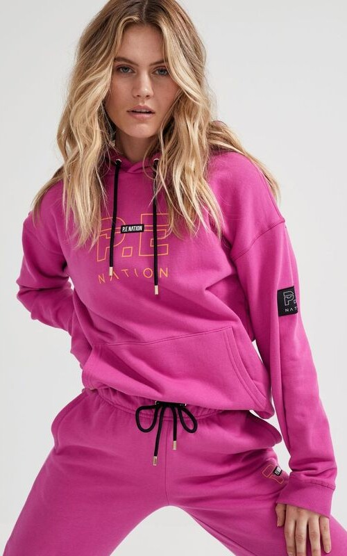 Endurance Hoodie Raspberry Rose | PE Nation | Harry & Gretel Perth |