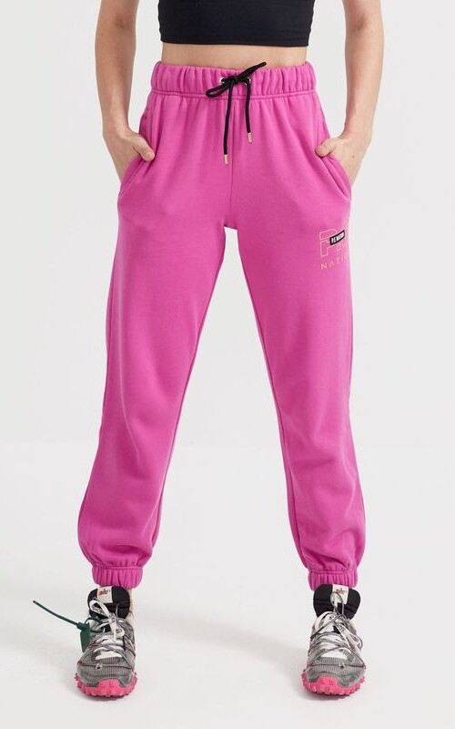 Heads Up Trackpant Raspberry Rose | PE Nation | Harry & Gretel Perth |