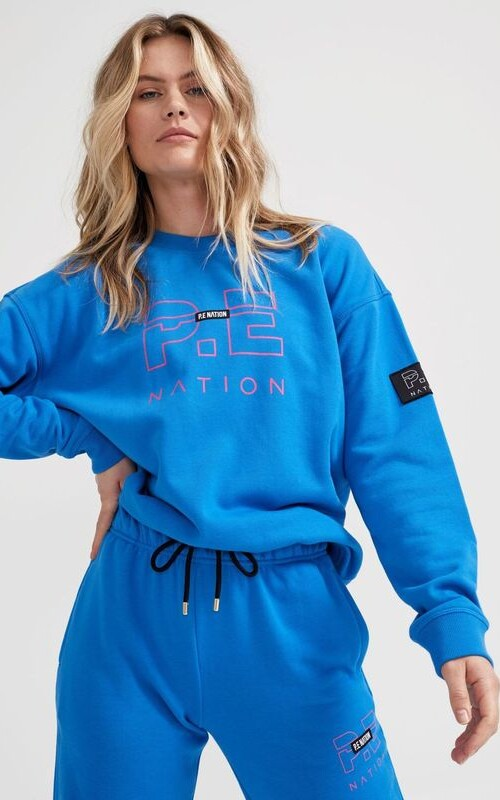 Heads Up Sweat Brilliant Blue | PE Nation | Harry & Gretel Perth | Jumper |
