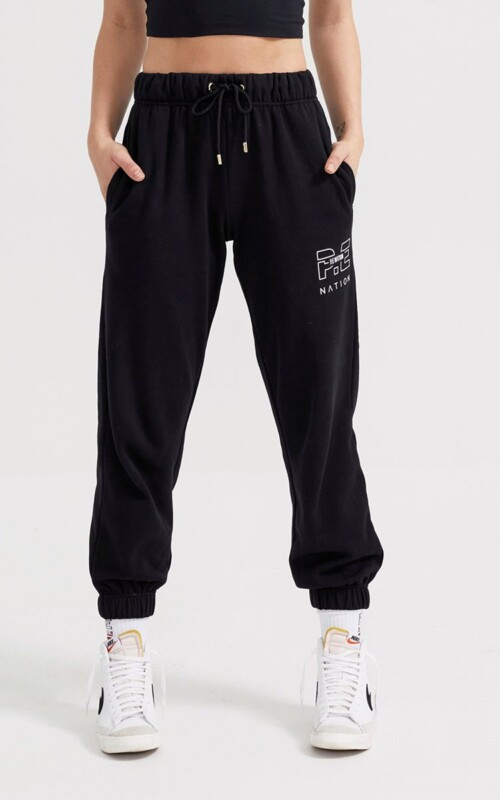 Heads Up Trackpant Black | PE Nation | Harry & Gretel Perth | Lounge |