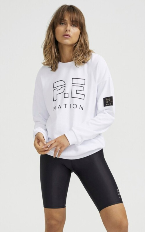 Heads Up Sweat White | PE Nation | Harry & Gretel Perth | Jumper |