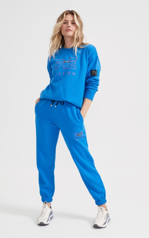 Heads Up Trackpant Brilliant Blue | PE Nation | Harry & Gretel Perth |