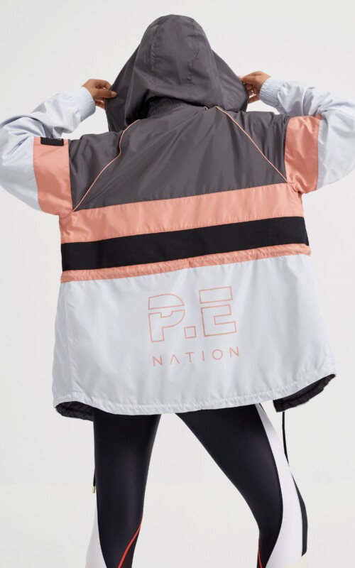 Speed Cut Jacket Charcoal | PE Nation | Harry & Gretel Perth | Activewear