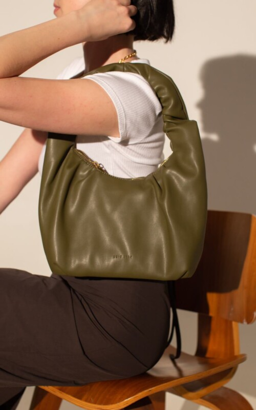 Fae Bag Forest Green | Brie Leon | Harry & Gretel Perth | Bags |